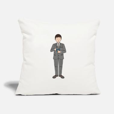 "Check Check Appointments - Throw Pillow Cover 18"" x 18"""