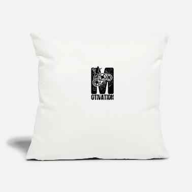 "Motivation Motivation - Throw Pillow Cover 18"" x 18"""
