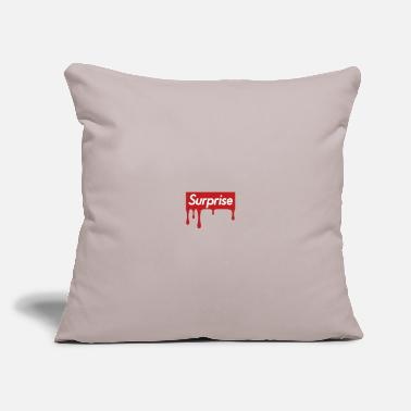 "Surprise Surprise - Throw Pillow Cover 18"" x 18"""
