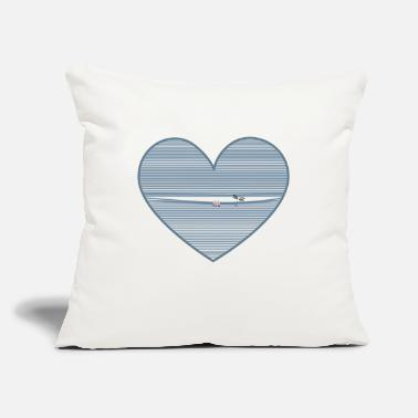 "Cuore spunta dal cuore - Throw Pillow Cover 18"" x 18"""