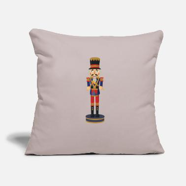 "nussknacker nutcracker weihnachten christmas santa - Throw Pillow Cover 18"" x 18"""
