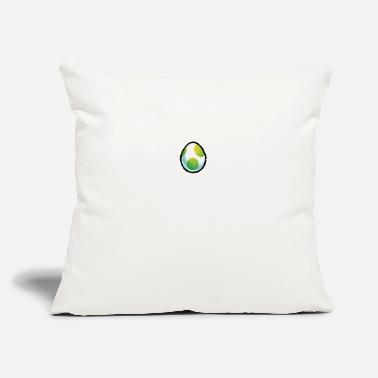 "Mario Characters Yoshi egg mario brothers - Throw Pillow Cover 18"" x 18"""