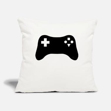 "Gaming Console - Throw Pillow Cover 18"" x 18"""