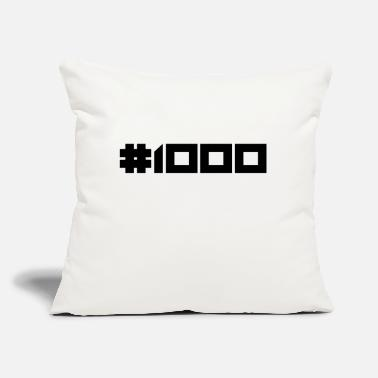 "#1000l - Throw Pillow Cover 18"" x 18"""