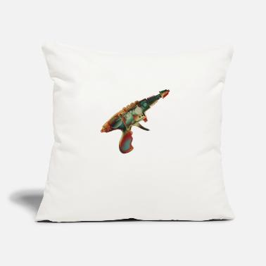 "Raygun1 No.2 - Throw Pillow Cover 18"" x 18"""