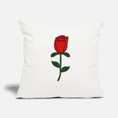 "Rose - Throw Pillow Cover 18"" x 18"""
