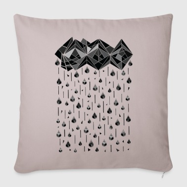 Geometric rain ss - Throw Pillow Cover