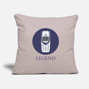 "Mobile Phone mobile phone legend - Throw Pillow Cover 18"" x 18"""