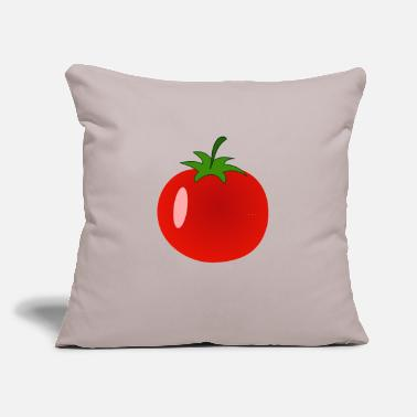 "Tomato Tomato, Tomatoe, Tomatos, Tomatoes - Throw Pillow Cover 18"" x 18"""