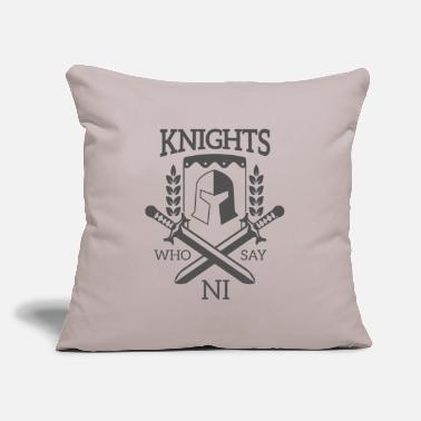 "Knights Monty Python - Knights who say NI - Throw Pillow Cover 18"" x 18"""