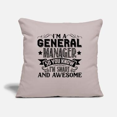 General Manager Shirt - Throw Pillow Cover