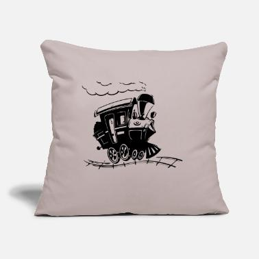 "Bnsf train - Throw Pillow Cover 18"" x 18"""