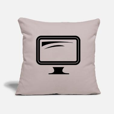 "Monitoring monitor - Throw Pillow Cover 18"" x 18"""