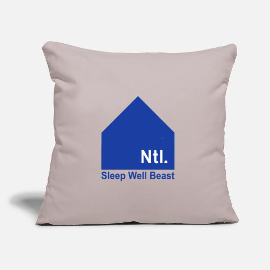 "Symbol  Pillow Cases - the national band - Throw Pillow Cover 18"" x 18"" light grey"