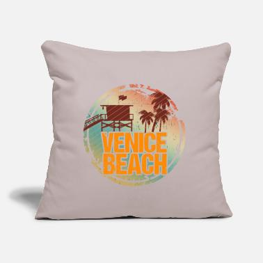 "Venice Beach Venice Beach Vintage - Throw Pillow Cover 18"" x 18"""