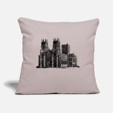 "Cathedral Cathedral - Throw Pillow Cover 18"" x 18"""