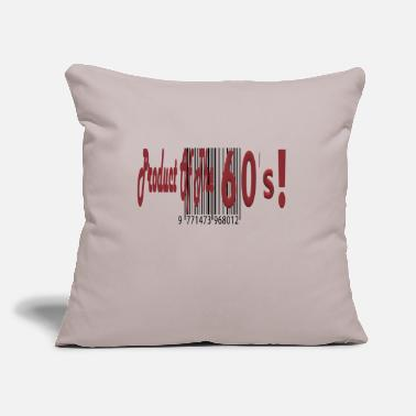 "60s 60s baby - Throw Pillow Cover 18"" x 18"""