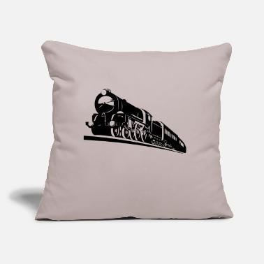 "Bnsf train engine - Throw Pillow Cover 18"" x 18"""