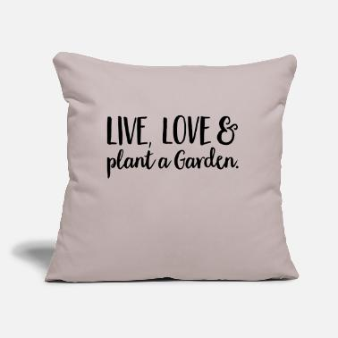 "Plant plant - Throw Pillow Cover 18"" x 18"""