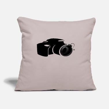 "Bomber PHOTO BOMBER - Throw Pillow Cover 18"" x 18"""