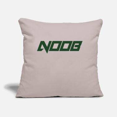 "Noob noob - Throw Pillow Cover 18"" x 18"""