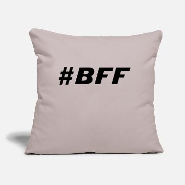 "Bff bff - Throw Pillow Cover 18"" x 18"""