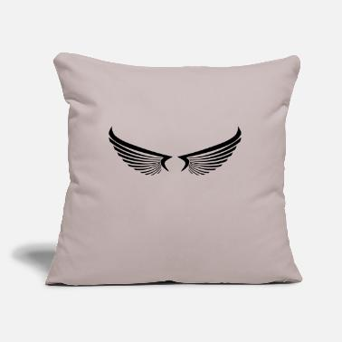 "Wing wing wings - Throw Pillow Cover 18"" x 18"""