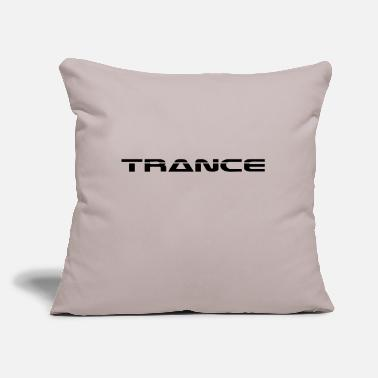 "Trance Trance - Throw Pillow Cover 18"" x 18"""