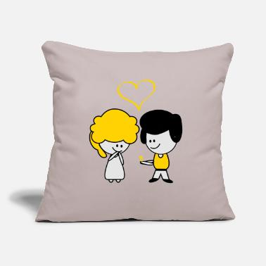 "Marry married - Throw Pillow Cover 18"" x 18"""