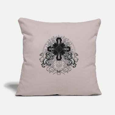 "Alchemy OCCULT SHIRT 7 - Throw Pillow Cover 18"" x 18"""