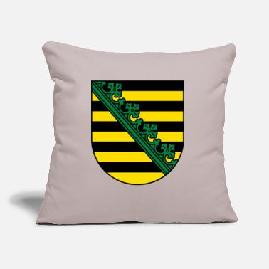 "Saxony Saxony Coat Of Arms - Throw Pillow Cover 18"" x 18"""