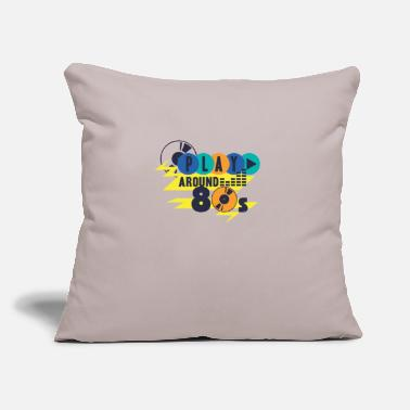 "Retro 80s retro 80s party 04 - Throw Pillow Cover 18"" x 18"""