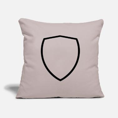 "Coat Of Arms Coat of arms - Throw Pillow Cover 18"" x 18"""