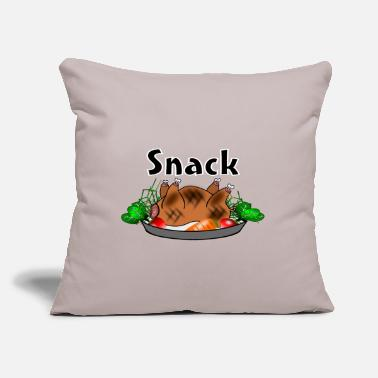 Snack Snack - Throw Pillow Cover