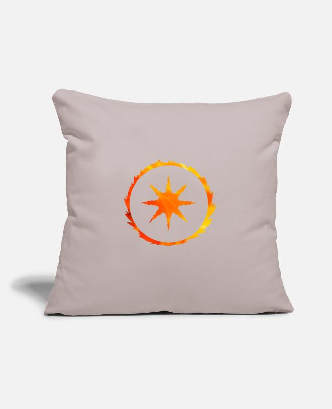 "Praise The Sun Pillow Cases - Dark Souls Praise The Sun - Throw Pillow Cover 18"" x 18"" light taupe"
