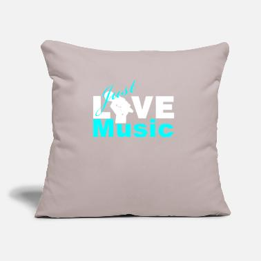 Hard Rock Just Live Music - Throw Pillow Cover