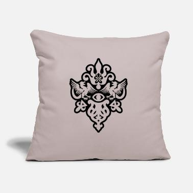 "Crest crest - Throw Pillow Cover 18"" x 18"""