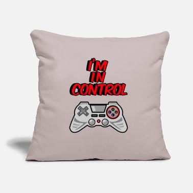 "Controllers I'm in Control Controller - Throw Pillow Cover 18"" x 18"""
