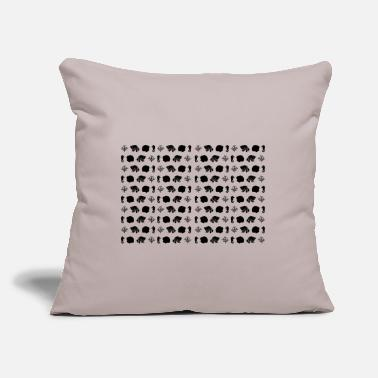 "Under under water - Throw Pillow Cover 18"" x 18"""