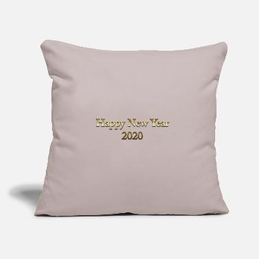 "Place Of Birth happy new year 2020 - Throw Pillow Cover 18"" x 18"""