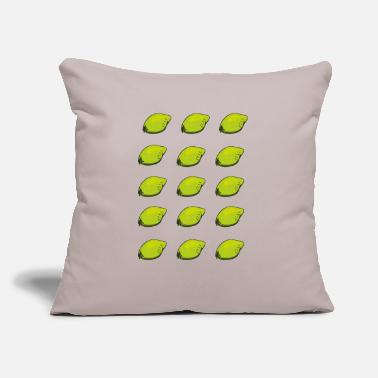 "Lemon Lemons - Throw Pillow Cover 18"" x 18"""