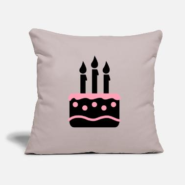 "Cake cake - Throw Pillow Cover 18"" x 18"""