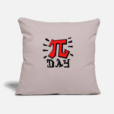 "Pi Day Pi day - Throw Pillow Cover 18"" x 18"""