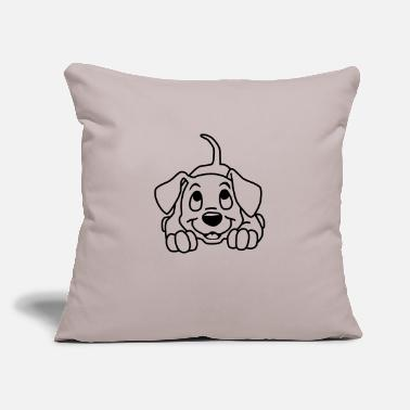 "Puppies Puppy - Throw Pillow Cover 18"" x 18"""