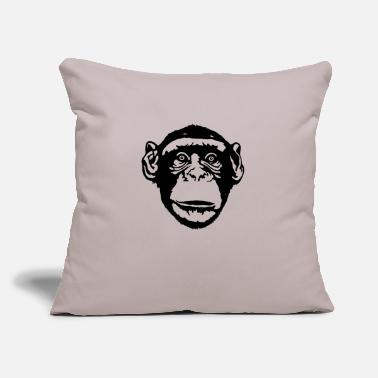 "Ape Ape - Throw Pillow Cover 18"" x 18"""