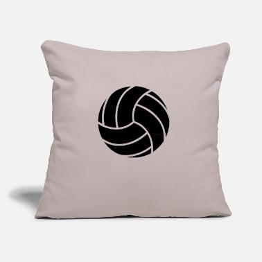 "Volley Volley Ball - Throw Pillow Cover 18"" x 18"""