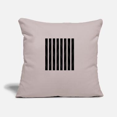 "Strip Strips - Throw Pillow Cover 18"" x 18"""