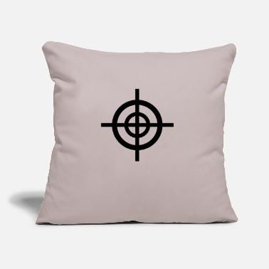 "Target target - Throw Pillow Cover 18"" x 18"""