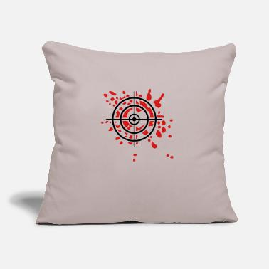 "Bloody Bloody Heart - Throw Pillow Cover 18"" x 18"""