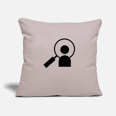 "Search search - Throw Pillow Cover 18"" x 18"""